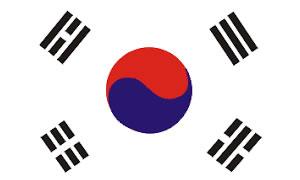 BandeiraCoréia do Sul